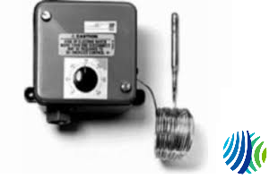 3//8 x 4-1//16 Bulb Two-SPDT Switch Action Johnson Controls A28MA-2C Penn Series A28 Two-Stage Temperature Control with Weatherproof Enclosure 6 Capillary 3//8 x 4-1//16 Bulb 6/' Capillary Johnson Controls Inc 4 to 49/°C Range