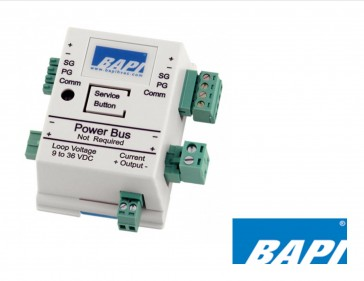 BA/COM-AO-EZ: BAPI Current Output Module, 4to 20mA Output Full Scale (used with Universal Input Transmitter)