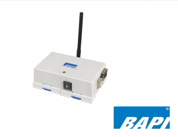 BA/RCV418-WAM-WHP-EZ: Bapi WAM Gateway-Wireless Asset Monitoring Receiver, W/5: Wip Antenna