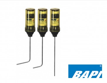 """BA/WFP-B3: Bapi Wireless food Temperature Probe, Bent Stinless Steel 3.4"""" Insertion with 2.11"""" Bend"""