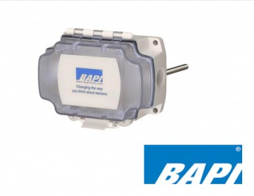 "BA/WT-D-12"": BAPI Wireless Duct Temperature Transmitter, 12"" Steel Probe"