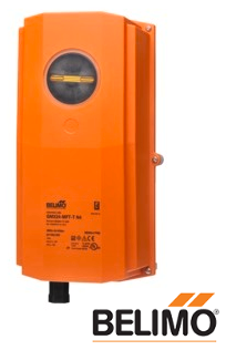 GKB24-3-T N4H Damper Actuator, 360 in-lb [40 Nm], Electronic fail-safe, AC 24 V, On/Off, Floating point, NEMA 4X, terminals