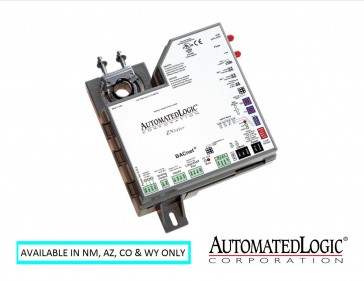 ZN341A:  ALC Zone Control Module with integrated actuator and flow sensor (3 DO, 4 UI, 1 AO).