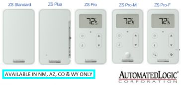 ZS2-HC-ALC ZS2 BASIC SENSOR, W/HUMIDITY AND CO2