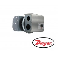 "1831-1-RA-S: DWYER Series 1831 DPDT  Low Differential Pressure Switches, manual reset, DPDT, activate on increase, silicone diaphragm, range 2.5-9"" w.c."