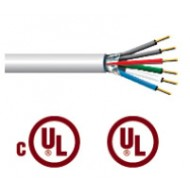 22 AWG 4 Conductor Shielded Plenum Cable 1,000 ft (#004342)