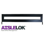 "20155-650: 6' Sliding Door Transom Window, adds 8.75"" (222 mm) to door height (~50U), Black"