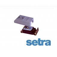 """2641 0R1WD 11 T1 C SETRA Differential Pressure Sensor 0 to 0.1"""" wc; Uni-directional; 1%9 to 30 vdc;4-20 mA; terminal strip; Brass"""
