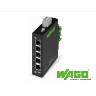 852-111: Wago Ethernet Switch 5 Port Din Rail Mount