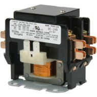 90-248 White-Rodgers 2 Pole Contactor, Type 122, 120 VAC Coil