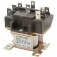 90-341 White-Rodgers 120VAC DPDT Semi-Enclosed Relay 2 Pole Switching Relays •WR/RBM Type 91