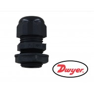 "A-155: DWYER Cable gland with 1/2"" male NPT fitting."