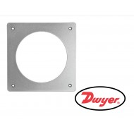 A-300: Dwyer Flat aluminum bracket for flush mounting