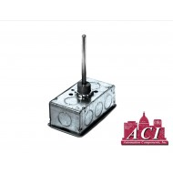 "A/1K-2W-INW-6""-GD: ACI Thermistor NO WELL 1000 Ohms @ 32 degrees F ( platinum RTD sensing element)"
