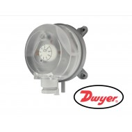 "ADPS-03-2-N: DWYER Adjustable differential pressure switch, set point range 0.20 to 2.00"" w.c., M20 connection."