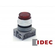 APW199-R-24: IDEC PILOT/FLUSH/INCAND/24V/RED LENS