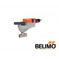 "B207B+LRB24-3-S: BELIMO Control Valve, CCV, Non-Spring Return Actuator, 2-way On/Off, Floating, Brass Trim, 1/2"" Cv 0.3"