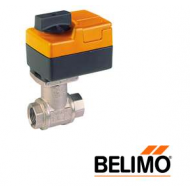 """B209+TR24-3/300 US BELIMO Control Valve, Non-Spring Return Actuator, 2-way On/Off, Floating, CCV, SS Trim, 1/2"""", Cv 0.8"""" CCV w/ Stainless Steel Ball and Stem"""