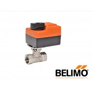 "B207B+TR24-3/500 US: BELIMO Control Valve, CCV, Non Spring Return Actuator, 2-way On/Off Floating, Brass Trim, 1/2"", Cv 0.3"