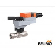 "B220HT186+LRB24-3-S: 2-way Control Valve, HT-CCV, 3/4"" NPT, 1.86cv with Non-Spring Return,45 in-lb ,On/Off/Floating,24V"