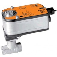 "B218+LF24: Belimo Control Valve 2-way control ball valve Internal thread NPT 3/4"", DN 20, kvs 7,4"