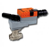 "B218+LRB24-3: Belimo Control Valve 2-way control ball valve Internal thread NPT 3/4"", DN 20, kvs 7,4"
