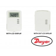 CDT-2W40: DWYER Carbon Dioxide Transmitter with universal current / voltage outputs and range 0 to 2000 PPM