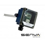 CO2D-F: SENVA Duct CO2 Trans. w/relay & temp with display, menu 10k T3