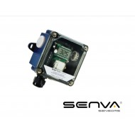 CO2O-A: SENVA Outside CO2 Transmitter/relaywith display and menu