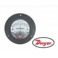 "2302: DWYER Differential pressure gage, range 1-0-1"" w.c., minor divisions .05."
