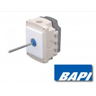 "BA/10K-2-D-8""-BB: Duct Temp Sensor, 10K-2, 8"" Stainless Probe, BAPI Box"