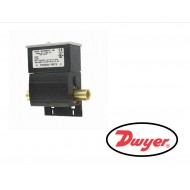 "DXW-11-153-3 DWYER Series DX Wet/Wet Differential pressure switch, brass and fluoroelastomer wetted materials, NEMA 4X, 1/4"" NPT connections, SPDT, range 25 to 50 psi."