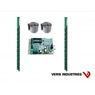 "E30A042: Veris Branch Circuit Monitor, High Density Solid-core, Advanced Monitoring: Voltage, Current, Power and Energy for 46 circuits (42 branches, one 3-phase main, one neutral), two strips with 21 ea 100A solid-core CTs with 3/4"" spacing, Modbus commu"