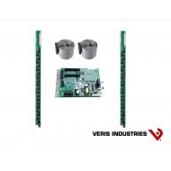 "E30C042: Veris Branch Circuit Monitor, High Density Solid-core, Basic Monitoring: Current only for 42 branch circuits, one 3-phase main and one neutral, two strips of 21 ea 100A solid-core CTs with 3/4"" spacing, Modbus communications, 90–277VAC (L-N)"