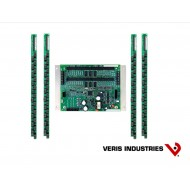 "E30C184: Veris Branch Circuit Monitor, High Density Solid-core, Basic Monitoring: Current only for 84 branch circuits, two 3-phase mains and two neutrals, four strips of 21 ea 100A solid-core CTs with 1"" spacing, Modbus communications, 90–277VAC (L-N)"
