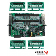 E31A004 Advanced Monitoring: Voltage, Current, Power and Energy for two 3-phase mains, two neutrals, and up to 84 branches, Modbus, 90–277VAC (L-N), ribbon cables sold separately (see CBL), supports 50A, 100A and 200A CTs sold separately (see E31CT)