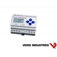 E51H2: VERIS Energy Meter, Bi-directional DIN-mount Energy Meter with BTL certified BACnet MS/TP serial communication. Includes one pulse input and an alarm output.