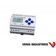 E51H5: VERIS Energy Meter, Bi-directional DIN-mount Energy Meter with BTL certified BACnet MS/TP serial communication and native data logging. Includes two pulse inputs for other Energy Sensors.