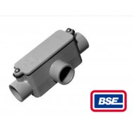E983F: 1 in. Non-Metallic Type T Conduit Body (20ct Box)