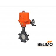 "F6150HD+SY3-110: Belimo Control Valve/Actuator, NEMA 4x, Butterfly Valve, 2-Way DI BFV, SS Disc, 6"" Cv 1579, COP 200psi"