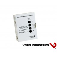 GM1A: VERIS Four sensor monitoring station with local alarm status and relay. 1 GWRSX CO sensor included.
