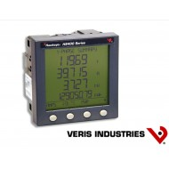 H8453V:  VERIS Power Meter, Panel mount, 120-480 V, Pulse output, FDS, two N.O. solid-state KY outputs (KWH and field-selectable Phase loss/KVARh).