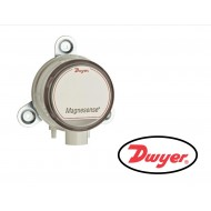 """MS-721: Dwyer Differential pressure transmitter, 5 VDC output, selectable range 0.1"""", 0.25"""", 0.5"""" w.c. (25, 50, 100 Pa), panel mount."""