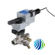 P1241A01522LHGA Series P1000 Model P1241A015 Pressure-Independent Valve with Model M2204-HGA-2 Spring-Return Open Actuator