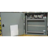 "PA0000002EA0 NEMA/UL Type 3R HVAC Expansion Panel, 24"" W x 24"" H x 8"" L, 96 VA Power Supply, 10 Point 24 VAC Distribution Terminal Block and Additional 96 VA Transformer"