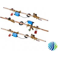 "PP12DA140-1 Series PP1 Piping Package for 1-1/4"" Pip Two-Way Automatic Flow Control Valve Models, 14 GPM"