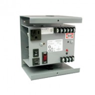 PSC100AB10 FUNCTIONAL DEVICES Transformer Enclosed Single 100VA Power Supply, 120 to 24VAC