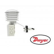 RHRS: DWYER 6 plate solar radiation shield for sintered filter version RH transmitters