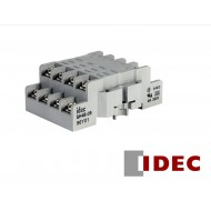 SH4B-05: IDEC Relay Socket, SP RELAY SOCKET DIN RAIL MTD