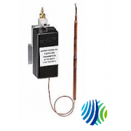 "T-5210-2001 Series T-5210 Pneumatic Temperature Transmitter, Copper Bulb with 5-1/2"" Capillary Element Style, 10-35°C Operating Range"
